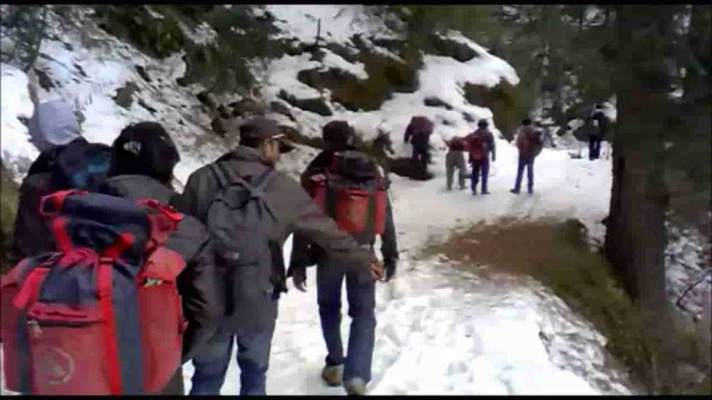 Dalhousie Snowfall, Mall Road, Trekking, Camping and Paragliding
