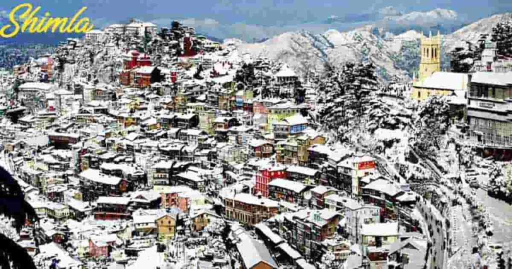 Shimla best time to visit – nearest railway station – Shimla from Delhi – Shimla to Manali – Snowfall
